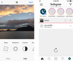 How to post camera roll photos on Instagram story | LEOGRAM